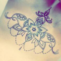 De populairste tags voor deze afbeelding zijn: cute, flower, girl, pattern en tattoo