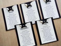 Frases para convite de casamento para padrinhos