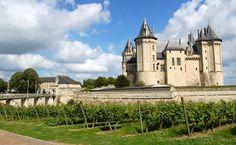 O Loire, na França, é famoso por seus châteaux e pela produção de vinhos (Foto: divulgação/wikipedia.org)