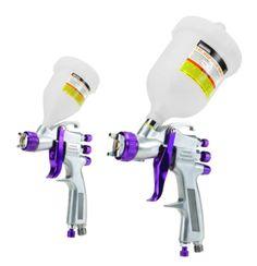 How to use an HVLP Paint Spray Gun {video tutorial}