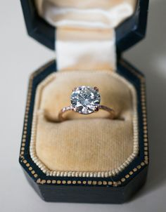 An elegant bespoke 2 carat Solitaire engagement ring, by S. Kind & Co.