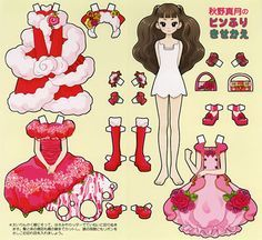 Barbie Paper Dolls, Paper Dolls Book, Paper Toys, Paper Doll Craft, Doll Crafts, Paper Crafts, Origami, Doll Japan, Wooden Clothespins
