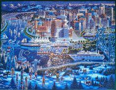 Vancouver 1000 Piece Puzzle