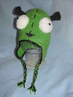 Crochet Invader Zim Patterns : ... invader zim hat crochet patterns google search more crochet pattern