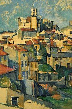 Gardanne, 1886 by Paul Cézanne