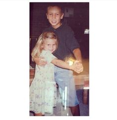 Aww young Tyler and Maddie Joseph