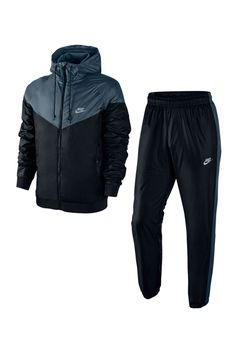 Mens Tracksuit Set, Nike Tracksuit, Polo Outfit, Hoodie Outfit, Nike Windrunner, Nike Outfits, Sport Outfits, Nike Clothes Mens, Hype Clothing