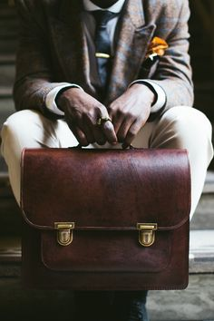 Briefcase | Men's Accessories