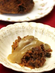 Traditional Christmas puddings go back hundreds of years. This is her grandmother's handwritten recipe for traditional Christmas pudding and brown sugar sauce.