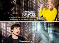 Ezra Miller - Fantastic Beasts cast