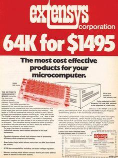 vintage everyday: Vintage Computer Ads