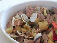 As Minhas Receitas: Carne de Porco à Alentejana