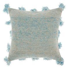 Blue Throws, Cotton Throws, Cotton Pillow, Jute Fabric, Pillow Fabric, Modern Throw Pillows, Blue Throw Pillows, Home Textile, Decorative Throw Pillows