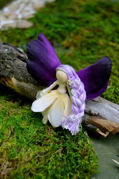 Flower Fairy Doll flower fairies waldorf by FifteenMagpieLane