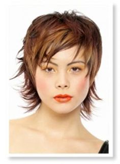 hairstyles for heart shaped faces | Medium length layered hairstyles for heart shaped faces 2