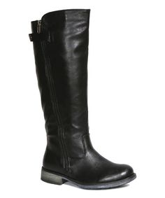 Another great find on #zulily! Black Lance Boot #zulilyfinds
