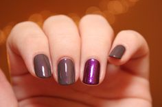 chanel 509 paradoxal h from warsaw with love purple violet taupe nail polish turbomagik