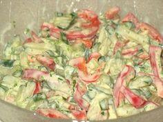 Paprika-Gurken-Salat mit Joghurt-Senf-Dressing, ein sehr schönes Rezept mit Bild aus der Kategorie Kalt. 9 Bewertungen: Ø 4,2. Tags: einfach, Gemüse, kalt, Salat, Schnell, Sommer, Vegetarisch, Vorspeise