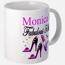 FABULOUS 50TH Mug Dazzle, sparkle and shine with our fabulous 50th birthday Tees and gifts.http://www.cafepress.com/jlporiginals/6515976 #50yearsold #Happy50thbirthday #50thbirthdaygift #Happy50th #Personalized50th