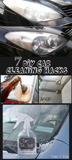 DIY car cleaning Hacks