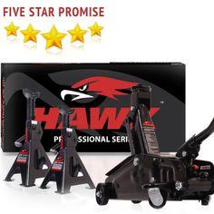 2 Ton Entry Trolley Jack Axle Stands Hawk Pro DIY Lift Lifting Garage Workshop_ #Hawk Jack And Jack, Garage Workshop, Diy, Garage, Bricolage, Do It Yourself, Garage Shop, Homemade, Diys