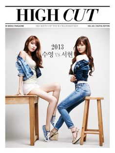 High Cut Korea vol. 101 feat. Seohyun and Sooyoung of SNSD