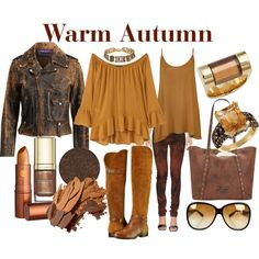 Warm Autumn by prettyyourworld on Polyvore featuring moda, MANGO, WearAll, Ralph Lauren, Pepe Jeans London, Naturalizer, Patricia Nash, Chloé, LeVian and WithChic