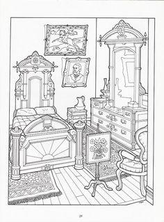 The Victorian House coloring book - Nena bonecas de papel - Picasa Web Albums
