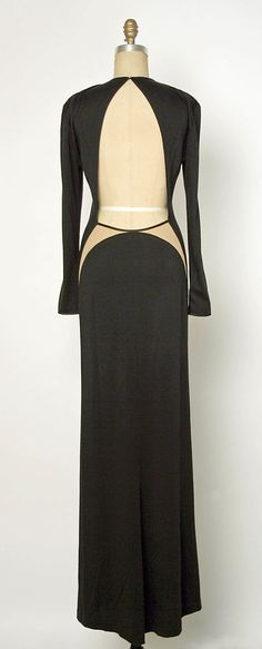Dress; Geoffrey Beene (1927–2004) Date: fall/winter 1989–90 Medium: wool, silk