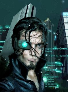 shadowrun; male; human; monocle;