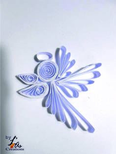 quilling création ange Paper Quilling Tutorial, Paper Quilling Flowers, Paper Quilling Patterns, Quilling Paper Craft, Paper Crafts, Diy Quilling Christmas, Christmas Origami, Noel Christmas, Activity Day Girls