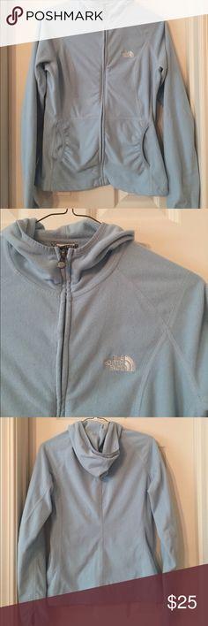 Women's fleece The North Face zip up hoodie. EUC EUC. Smoke free home. The North Face Tops Sweatshirts & Hoodies