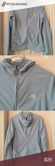 Women's fleece The North Face zip up hoodie. EUC EUC. Smoke free home. The North Face Tops Sweatshirts & Hoodies