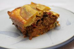 Puerto Rican Plantain Lasagna (Pastelón) - Puerto Rico has many dishes that are AIP-friendly!-