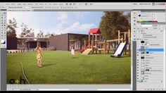 Sesión en vivo Post Producción en rendering