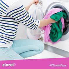 #Dicasdecasa Depois de retirar a roupa lavada da máquina, é fundamental deixar a porta da máquina de lavar aberta para que possa ventilar e evitar que acumule humidade lá dentro.