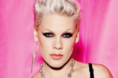P!nk is one snazzy, smart, strong lady who doesn't back down from who she is.