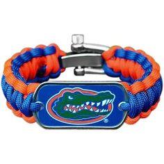 Florida Gators Survival Paracord Bracelet #Fanatics
