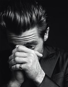 Jake Gyllenhaal by Hedi Slimane for VMAN image jake gyllenhaal hedi slimane 0002