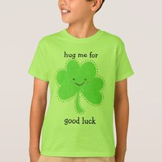 hug me for good luck...