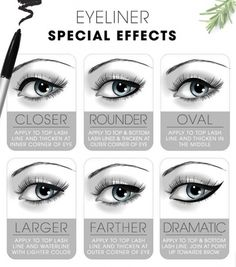 Eyeliner Special Effects The Best Makeup Cheat Sheets You'll Ever Need • Page 4 of 5 • BoredBug
