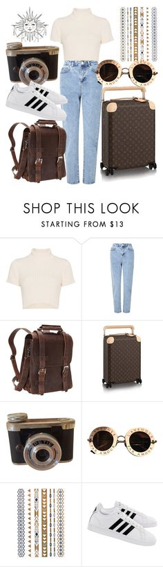"""just kidding"" by crystalmendes on Polyvore featuring Staud, Miss Selfridge, Vagabond Traveler, Gucci and adidas"