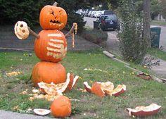 Killer Pumpkin!  http://guymanningham.com/amazing-pumpkin-carvings/