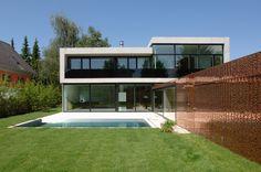 Einfamilienhaus in Lustenau / Österreich : Moderne Häuser von Früh Architekturbüro ZT GmbH