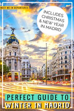 Visiting Madrid in Winter | Visit Madrid | Spain Travel | Why you need to add Madrid to your Spain Itinerary | Spanish Capital | Madrid Itinerary | Short vacation to Madrid | Europe in Winter | Things to do in Madrid | Things to see in Madrid | Madrid in 2 Days | Weekend in Madrid | Winter in Madrid | Christmas in Madrid | New Years in Madrid | What to do in Madrid when it rains | The best things to see in winter in Madrid | #EuropeWinter #Madrid #Spain #visitMadrid #VisitSpain Spain Travel, Travel Europe, Winter Travel, Holiday Travel, Visit Madrid, South Of Spain, Andalusia Spain, Europe Destinations, Things To Do