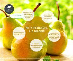 Owoce nie tylko smakują idealnie samodzielnie. Możecie je dodawać do sałatek czy do dań głównych – znakomicie do tego nadają się gruszki. Warto urozmaicić o nie swoją dietę – to nie tylko smak i witaminy, ale także naturalny sposób na niektóre dolegliwości!  #ageless www.ageless.pl #gruszki #owoce #witaminy #zdrowie