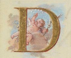 Epistolarium et Evangeliarium ad usum capellae regiae Versaliensis. I Publication date : Letter D, Initial Letters, Saint Tattoo, D Tattoo, Bnf, Calligraphy Letters, Illuminated Letters, Reborn Babies, Initials