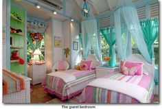 Maddi's room in our future caribbean vacation home! :)