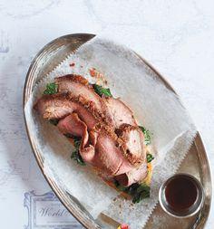 Dry Rub Seasoned Flank Steak | Edible Feast via Edible Cleveland #ediblekitchen