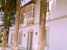 """Fachada de la """"Casa de Dirección"""" de la azucarera de Ntra. Sra. del Carmen de Torre del Mar. Estado actual."""
